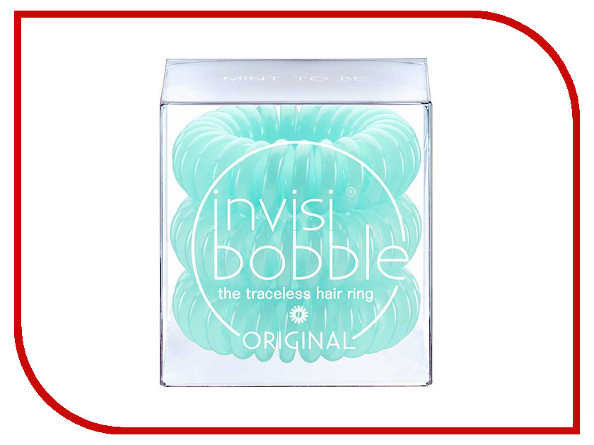 Резинка для волос Invisibobble Original Mint to Be 3 штуки murder mysteries 3 dying to be famous