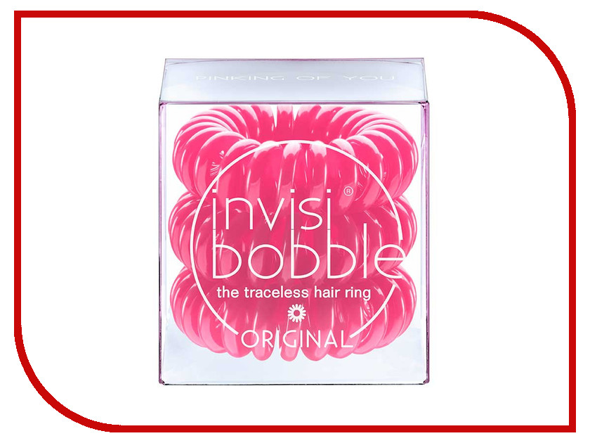 Резинка для волос Invisibobble Original Pinking of You 3 штуки<br>