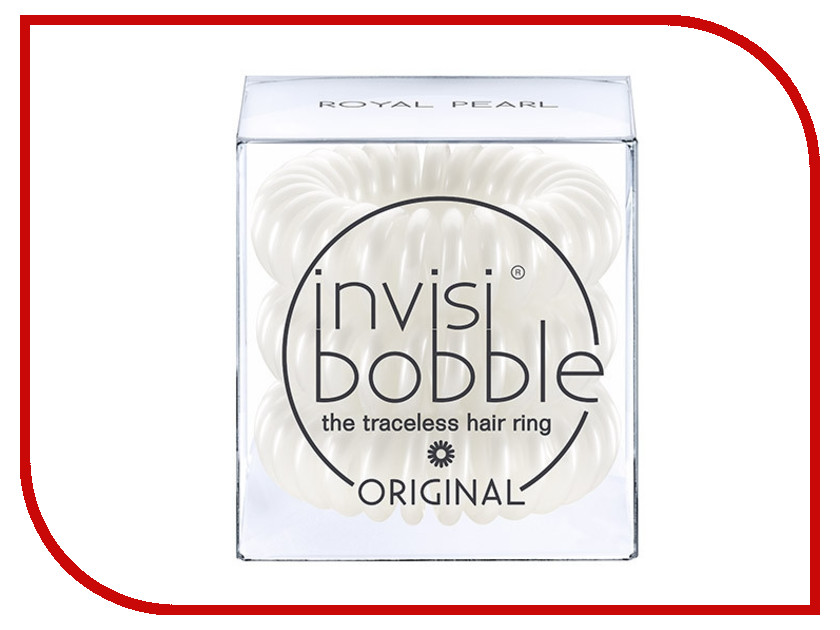 Резинка для волос Invisibobble Original Royal Pearl 3 штуки<br>