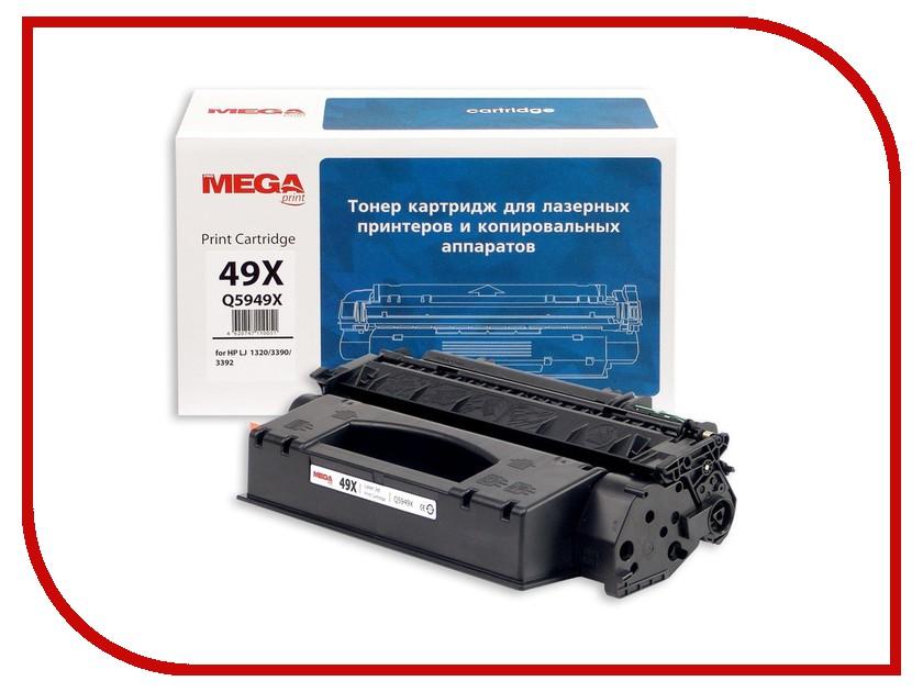 Картридж ProMega Print 49X Q5949X для НР 320/3390/3392 Black<br>