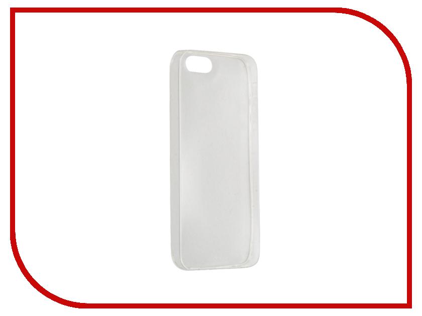 Аксессуар Чехол Deppa GelCase для iPhone 5 / 5S Clear DEP-85200<br>