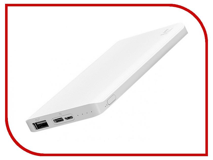Аккумулятор Xiaomi Mi ZMI QB810 10000mAh White