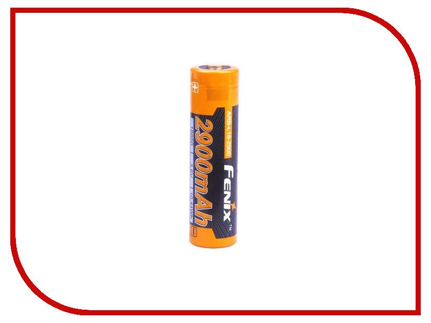Аккумулятор Fenix 18650 2900 mAh ARB-L18-2900 (1 штука) самокат fenix cms018 1 pink