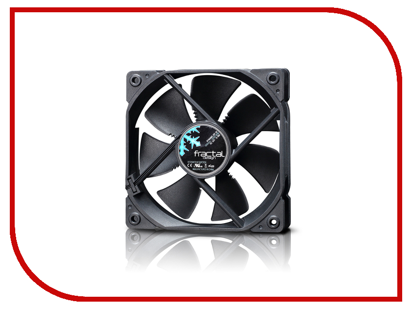 Вентилятор Fractal Design Dynamic GP-12 Black FD-FAN-DYN-GP12-BK