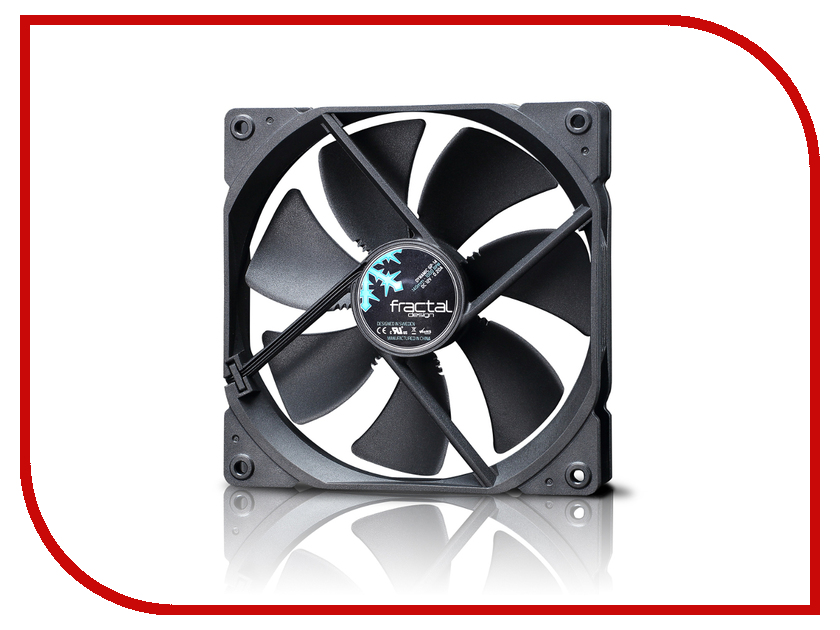 Вентилятор Fractal Design Dynamic GP-14 Black FD-FAN-DYN-GP14-BK