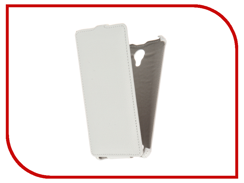 Аксессуар Чехол BQ BQS-5515 Wide Zibelino Classico White ZCL-BQ-BQS-5515-WHT