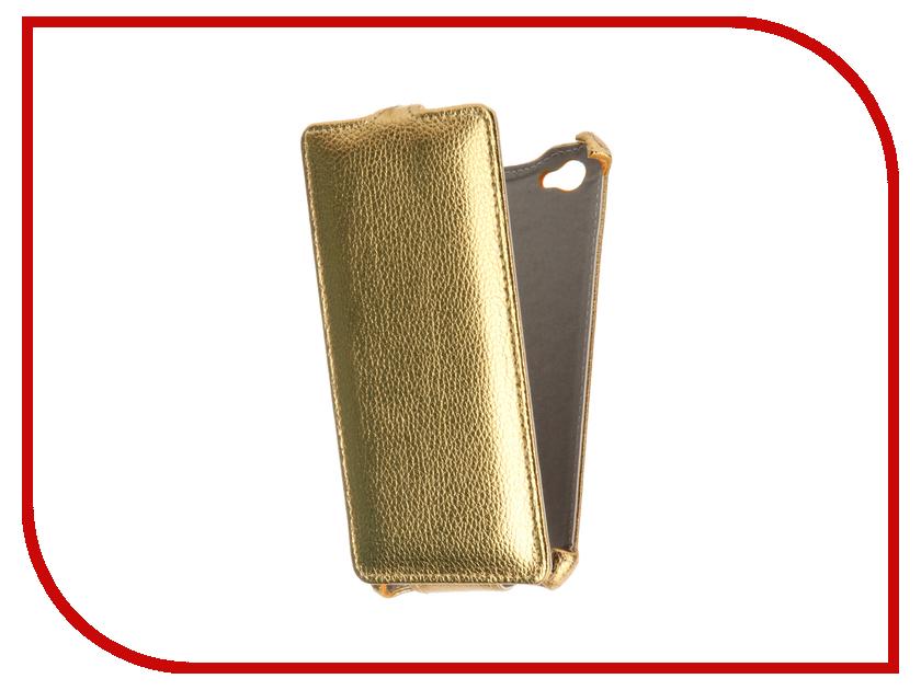 Аксессуар Чехол Philips S326 Zibelino Classico Gold ZCL-PHL-S326-GLD<br>