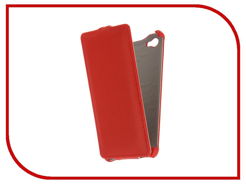 Аксессуар Чехол Philips S326 Zibelino Classico Red ZCL-PHL-S326-RED<br>