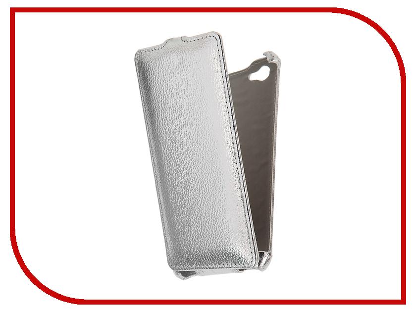 Аксессуар Чехол Philips S326 Zibelino Classico Silver ZCL-PHL-S326-SLV<br>