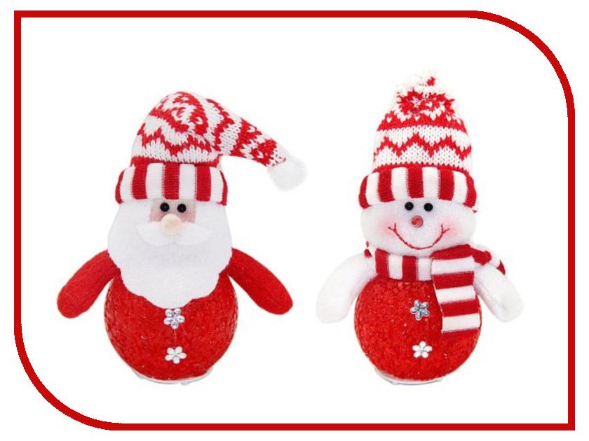 Новогодний сувенир Новогодняя Сказка LED свет 12.5см Red 972408