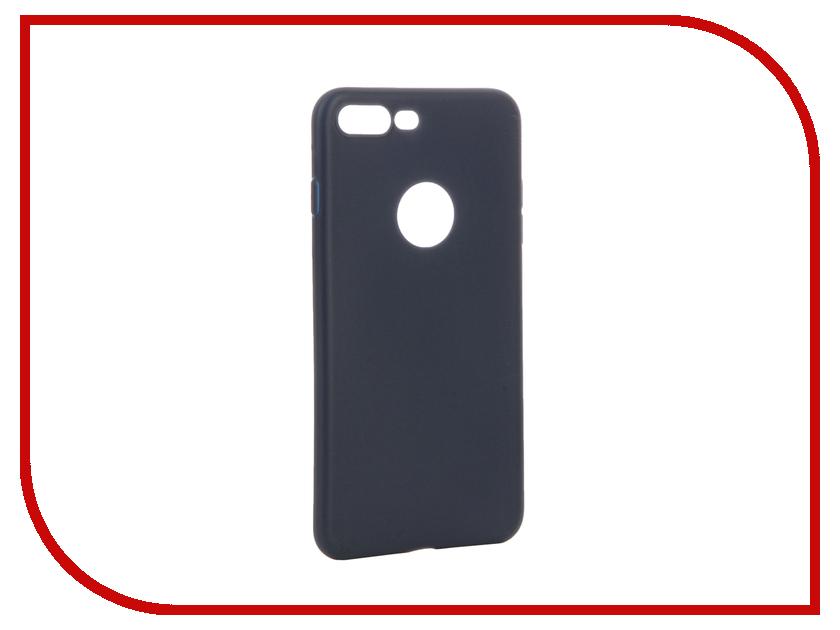 Аксессуар Чехол Apres Slim Protective Back Case Cover для APPLE iPhone 7 Plus Navy Blue<br>