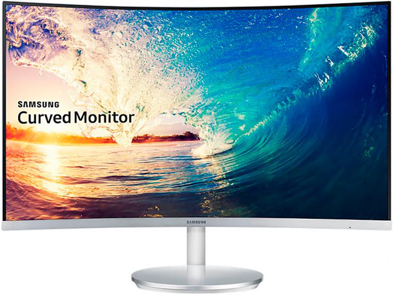 Монитор Samsung C27F591FDI Glosy White цена