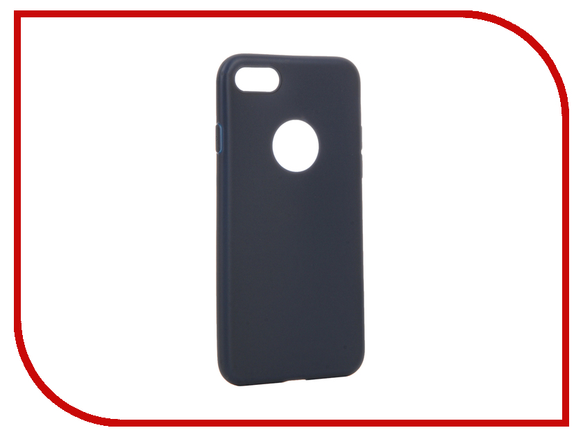 Аксессуар Чехол Apres Slim Protective Back Case Cover для APPLE iPhone 7 Navy Blue<br>