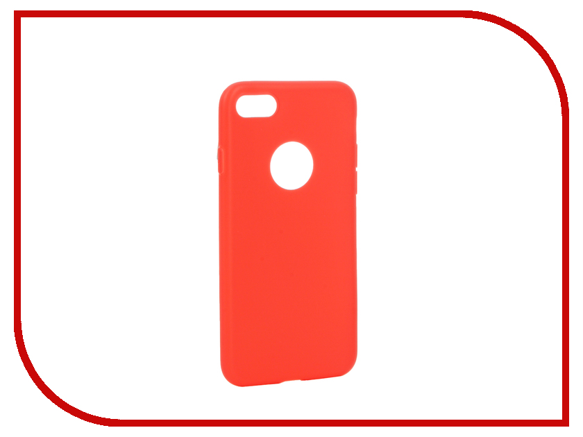 Аксессуар Чехол Apres Slim Protective Back Case Cover для APPLE iPhone 7 Red