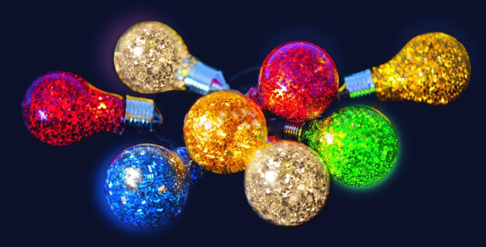Гирлянда SnowHouse Карнавальные шарики LLD10M-WW