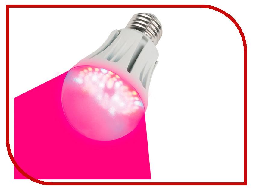 Светодиодная фитолампа Uniel LED-A60-9W/SP/E27/CL ALM01WH 09645