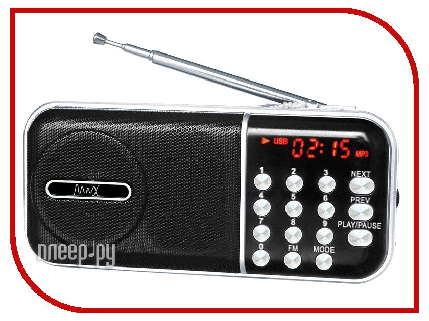 Maxim Радиоприемник MAX MR-321 Silver