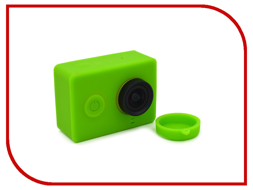 Аксессуар Apres Silicone Case for Xiaomi Yi Camera Green