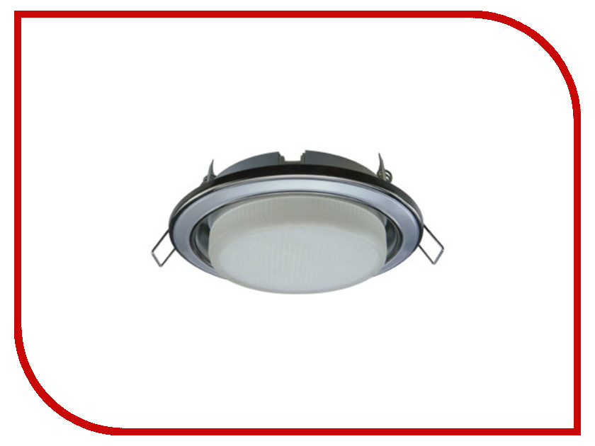 Светильник Ecola GX53 H4-GL Chrome FC53GLECB