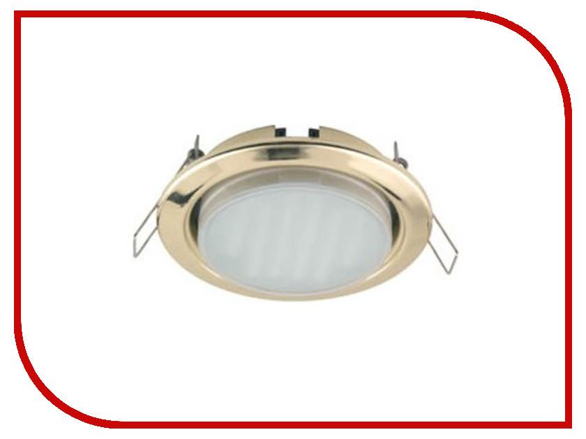 Светильник Ecola GX53 H4-GL Gold FG53GLECB