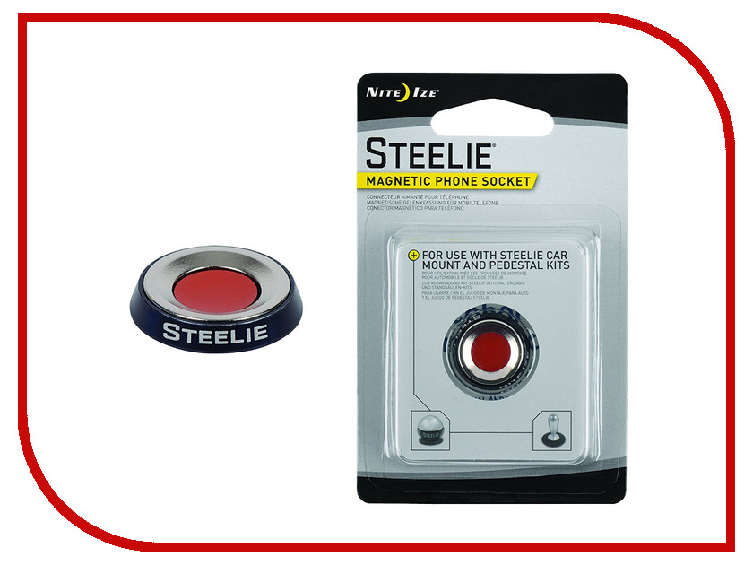 Держатель Nite Ize Steelie Car Mount STSM-11-R7 держатель nite ize steelie car mount kit stck 11 r8