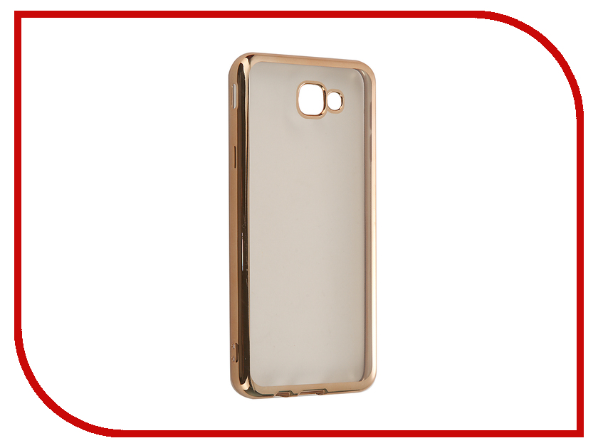 Аксессуар Чехол Samsung Galaxy J5 Prime / On5 (2016) DF sCase-37 Gold чехол с флипом для samsung galaxy j2 prime grand prime 2016 df sflip 11