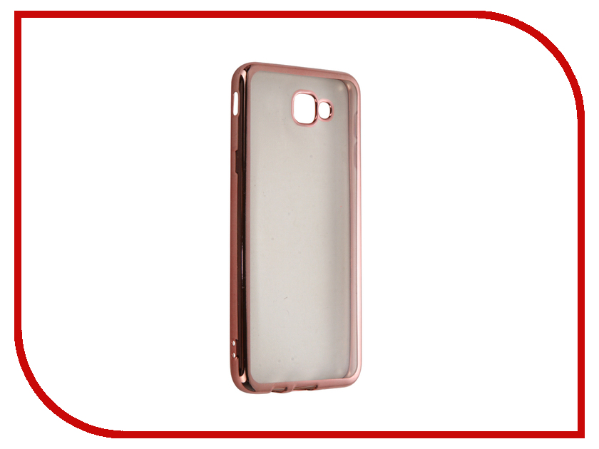 Аксессуар Чехол Samsung Galaxy J5 Prime / On5 (2016) DF sCase-37 Rose Gold аксессуар чехол samsung galaxy a7 2016 df scase 24 rose gold