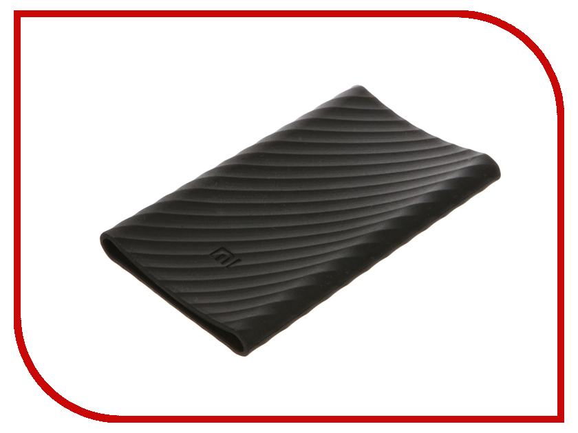 Аксессуар Чехол Xiaomi Silicone Case for Power Bank Pro 10000 Black<br>