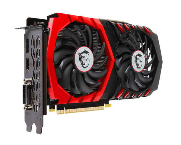 Видеокарта MSI GeForce GTX 1050 Ti 1354Mhz PCI-E 3.0 4096Mb 7008Mhz 128 bit DVI HDMI HDCP GAMING X 4G