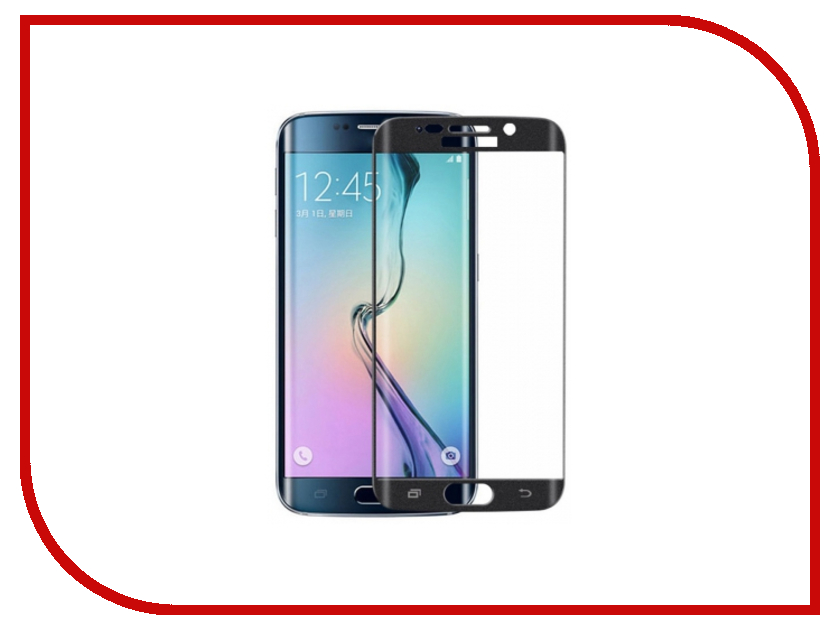 Аксессуар Защитное стекло Samsung Galaxy S7 Edge Ainy Full Screen Cover 3D 0.2mm Black аксессуар защитное стекло samsung galaxy a5 2017 solomon full cover black
