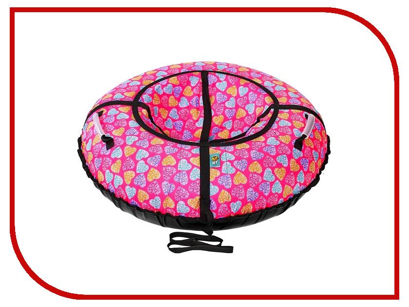 Тюбинг RT Сердечки 105см Pink<br>