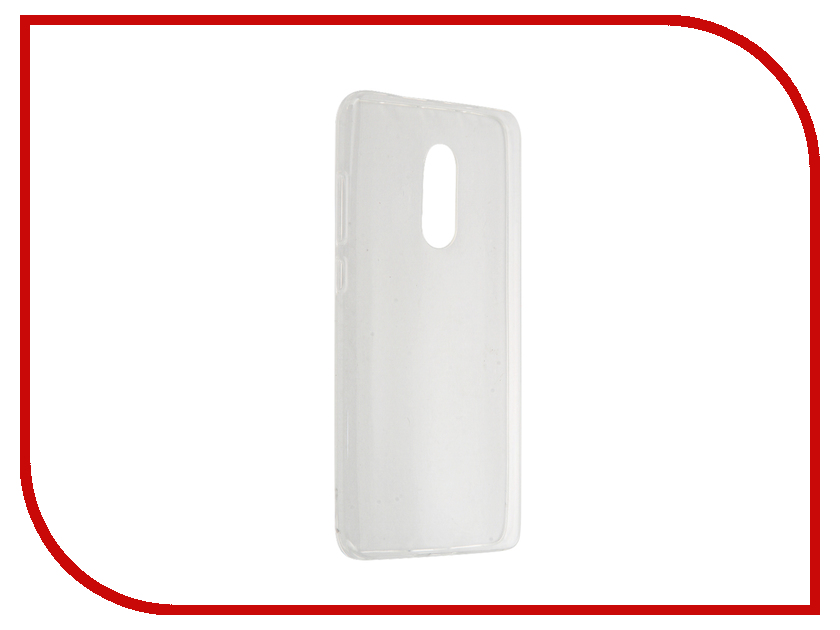 Аксессуар Чехол Xiaomi Redmi Note 4 BROSCO Transparent XM-RN4-TPU-TRANSPARENT<br>