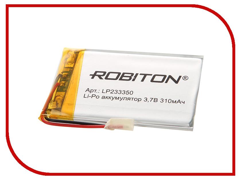 Аккумулятор LP233350 - Robiton 3.7V 310mAh LP310-233350 14069<br>