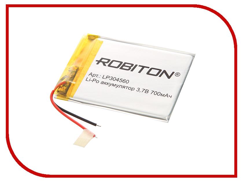 Аккумулятор LP304560 - Robiton 3.7V 700mAh LP700-304560 14070