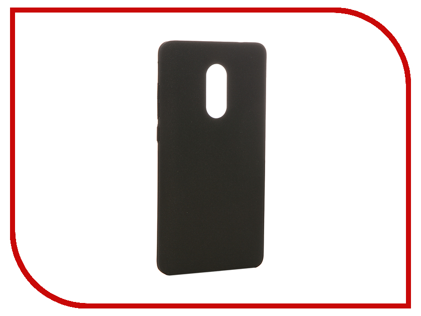 Аксессуар Чехол Xiaomi Redmi Note 4 BROSCO Softtouch Black XM-RN4-SOFTTOUCH-BLACK / XM-RN4-4SIDE-ST-BLACK interstep is crab чехол для xiaomi redmi note 4 black
