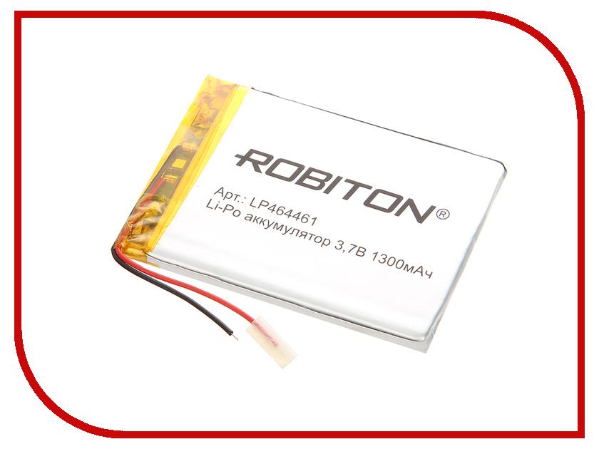 Аккумулятор LP464461 - Robiton 3.7V 1300mAh LP1300-464461 14073
