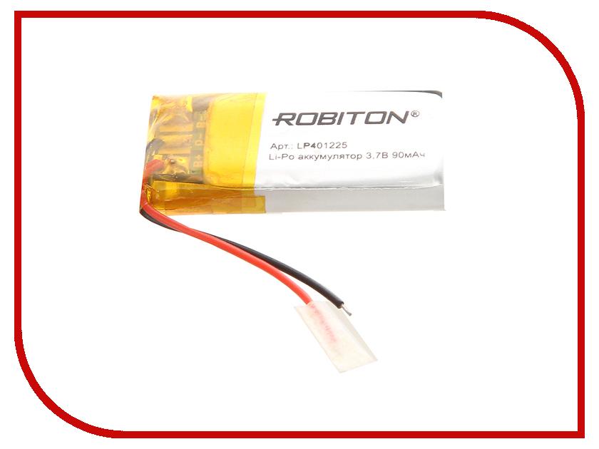 Аккумулятор LP401225 - Robiton 3.7V 90mAh LP90-401225 14062