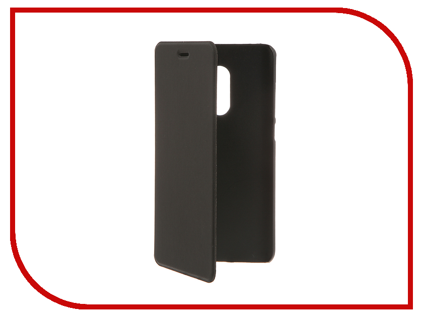 Аксессуар Чехол Xiaomi Redmi Note 4 BROSCO Black XM-RN4-BOOK-BLACK аксессуар чехол xiaomi redmi mi 5s plus brosco silicone black xm mi5sp tpu black