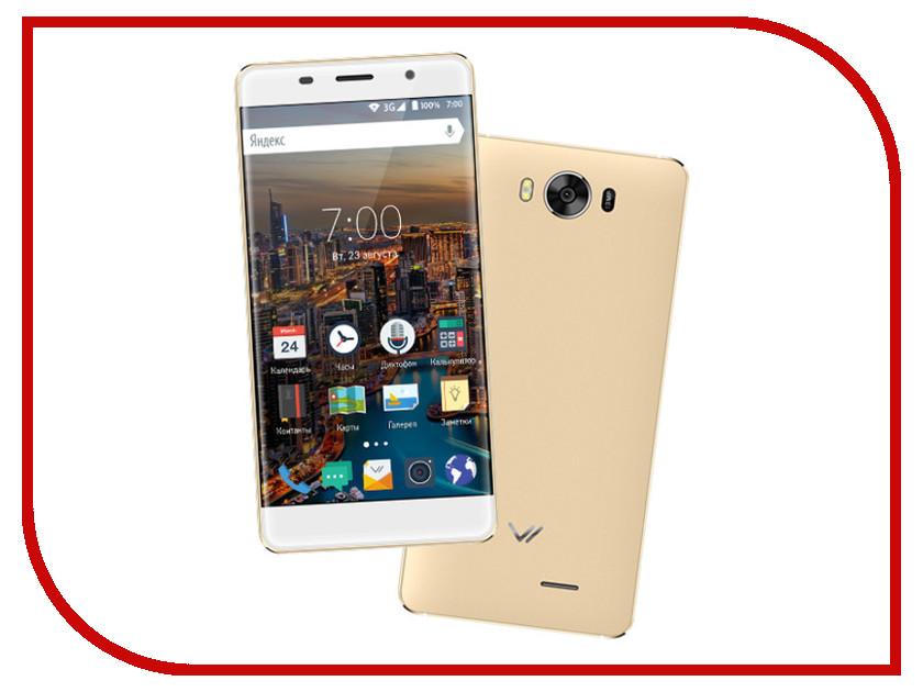 Сотовый телефон Vertex Impress In Touch 3G Gold<br>