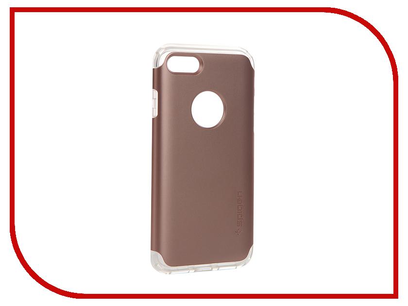 Аксессуар Чехол Spigen SGP Hybrid Armor для APPLE iPhone 7 Rose Gold 042CS20696<br>