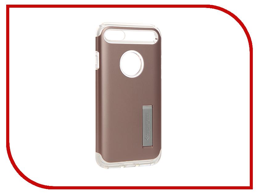 Аксессуар Чехол SGP Slim Armor для APPLE iPhone 7 Rose Gold 042CS20303<br>