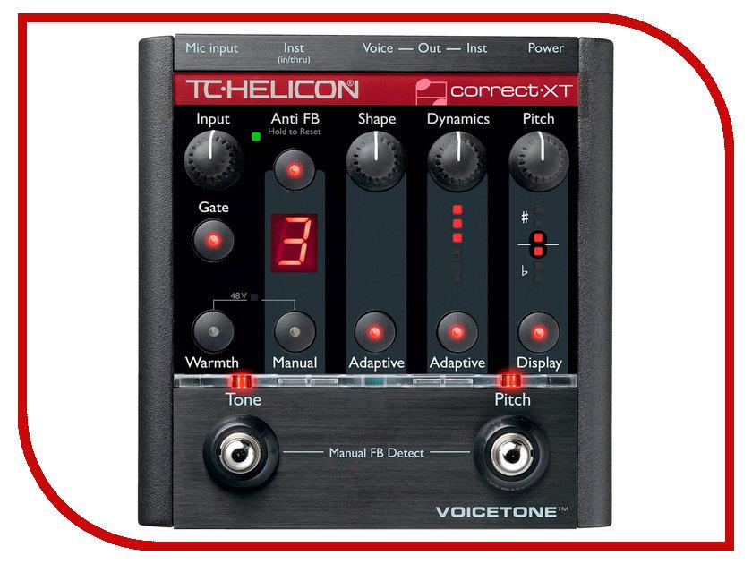 Вокальный процессор TC Helicon VoiceTone Correct XT<br>