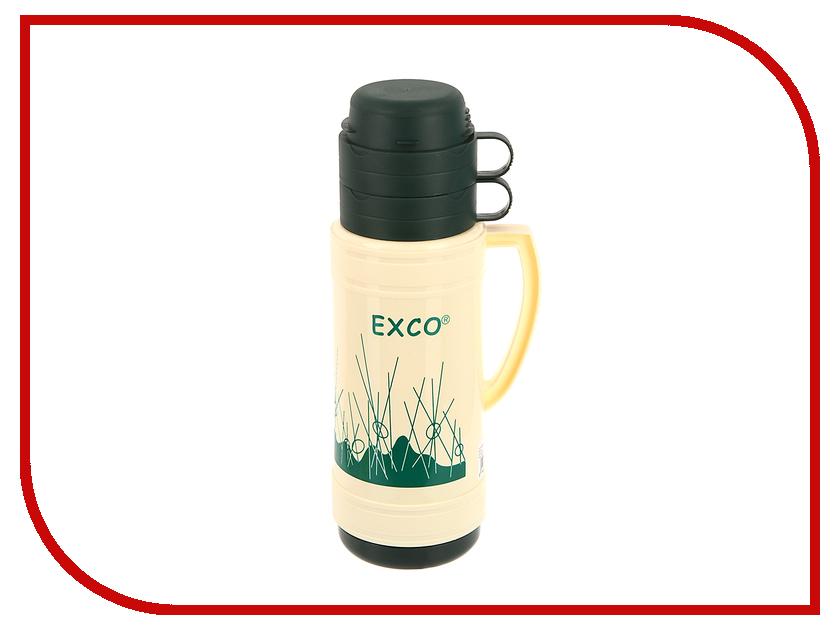 Термос EXCO EN100 1L Beige-Green