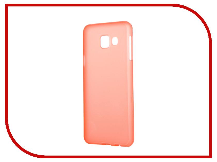 Аксессуар Чехол Samsung Galaxy A3 2016 TFN TPU Orange TFN-CC-05-009TPUOR<br>