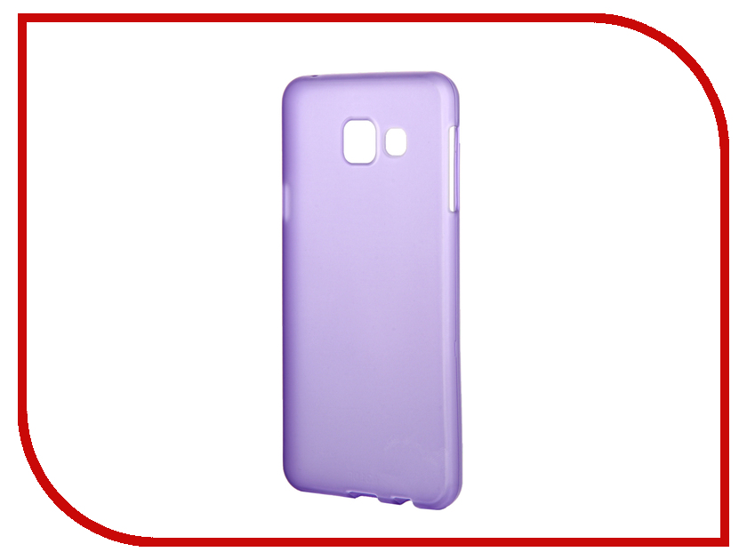Аксессуар Чехол Samsung Galaxy A3 2016 TFN TPU Purple TFN-CC-05-009TPUPU<br>