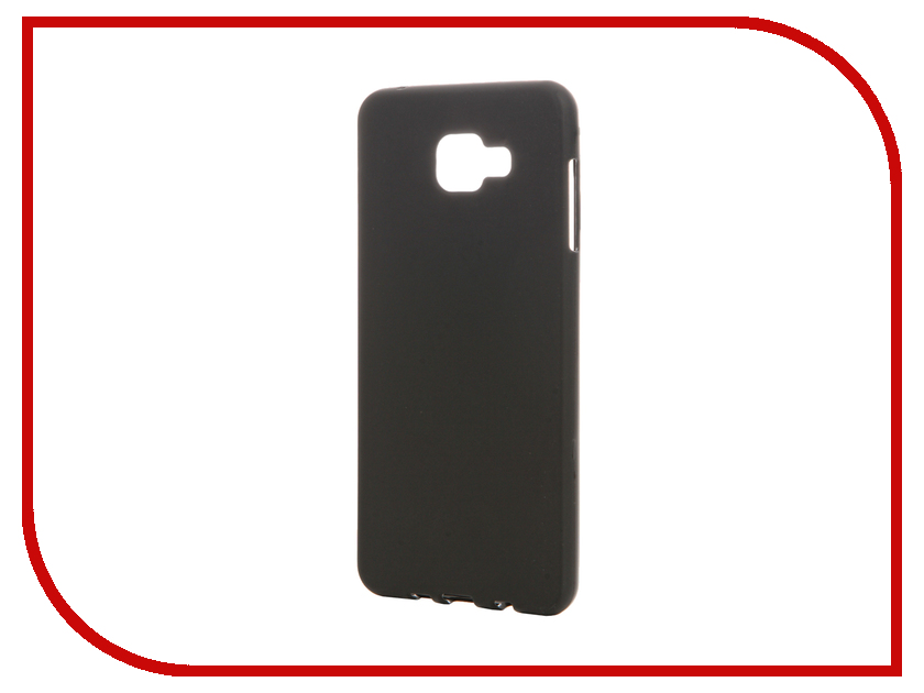 Аксессуар Чехол Samsung Galaxy A7 (2016) TFN TPU Black TFN-CC-05-011TPUBK<br>