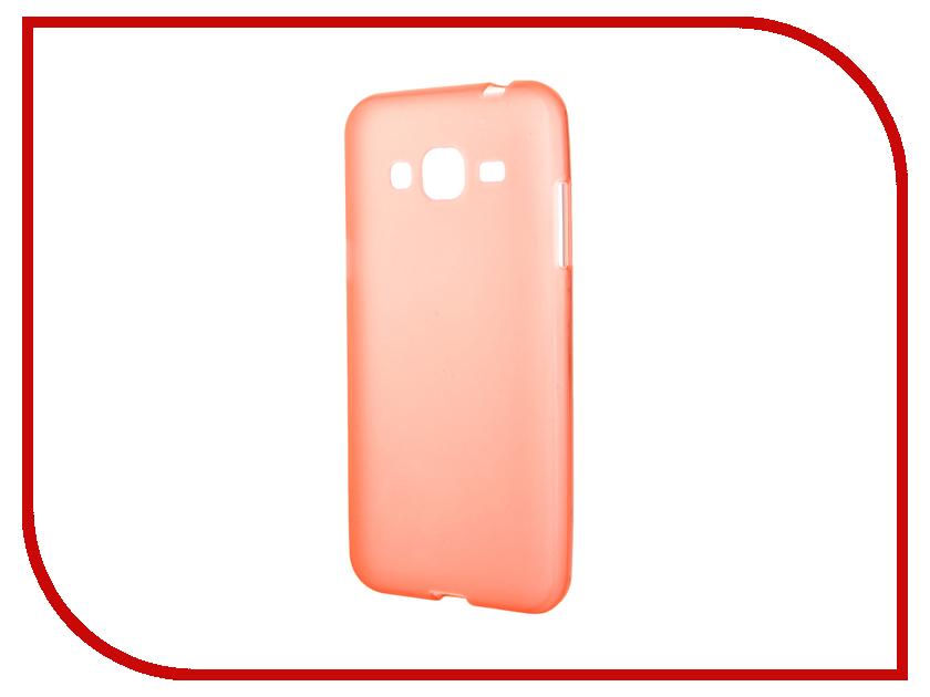 Аксессуар Чехол Samsung Galaxy J3 2016 TFN TPU Orange TFN-CC-05-008TPUOR<br>