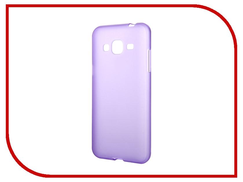 Аксессуар Чехол Samsung Galaxy J3 2016 TFN TPU Purple TFN-CC-05-008TPUPU<br>