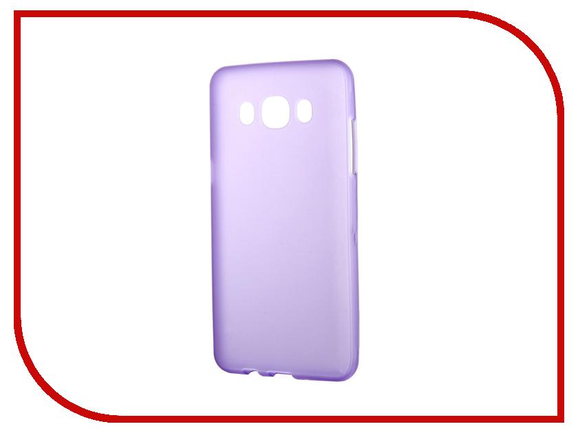 Аксессуар Чехол Samsung Galaxy J5 2016 TFN TPU Purple TFN-CC-05-013TPUPU<br>