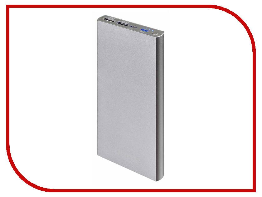 Аккумулятор Buro Power Bank 12000 mAh RA-12000-AL Silver<br>
